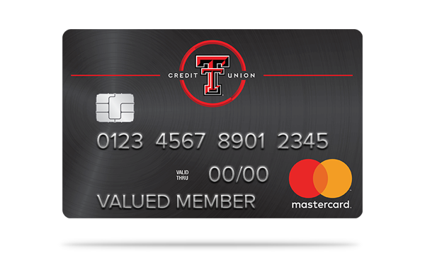 texas tech credit union black mastercard