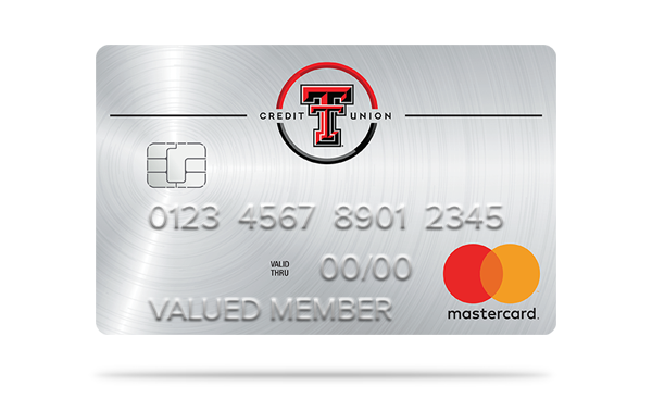 texas tech credit union platinum mastercard