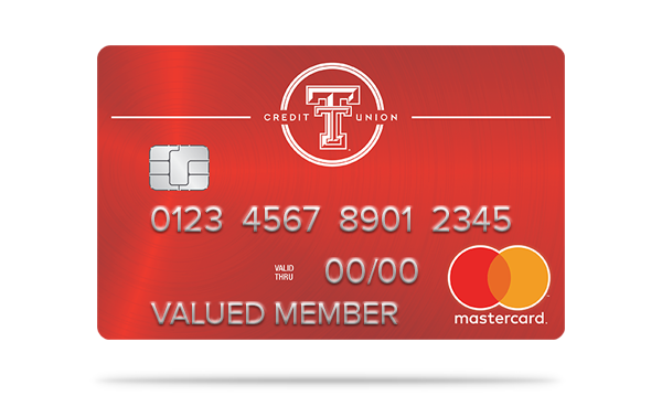 texas tech credit union red mastercard