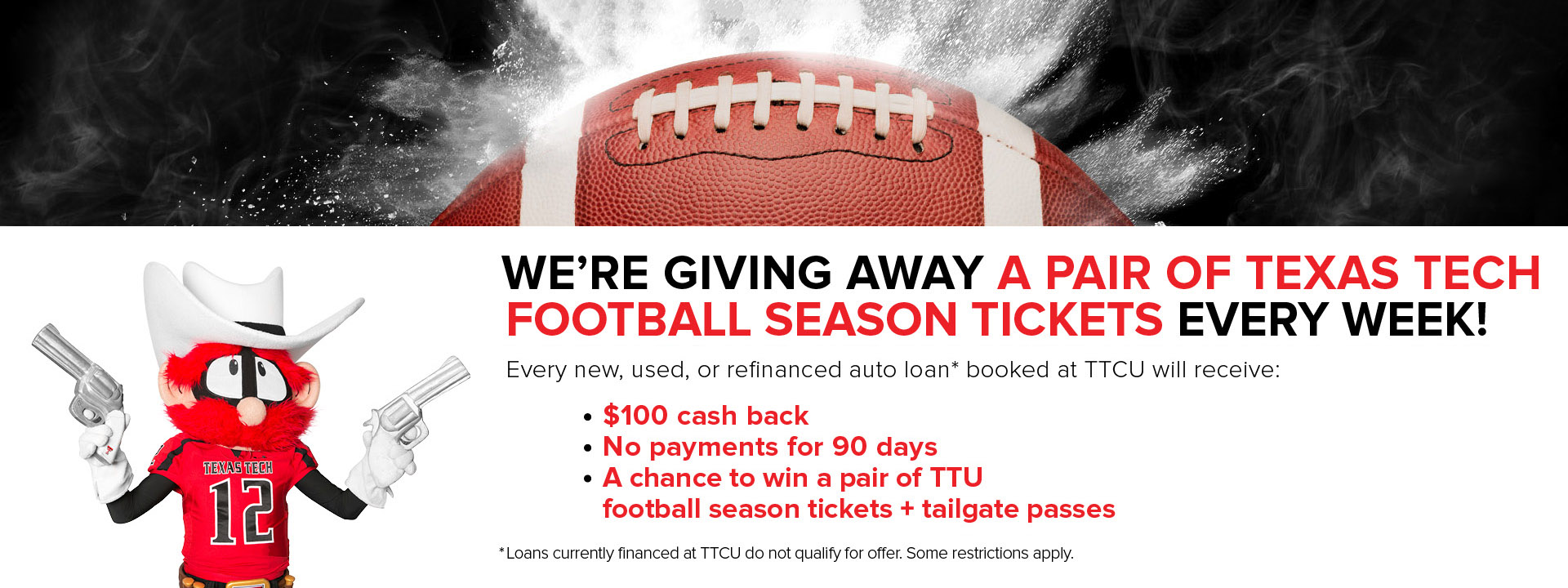 ttu football season tickets auto promo